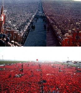 Erdogan - mini Hitler na Bosforu - Skupovi podrske