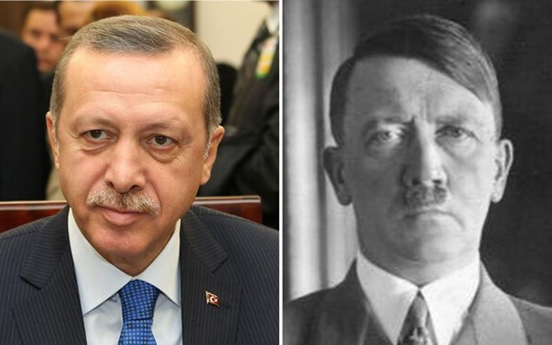 Erdoğan – mini Hitler na Bosforu - Hitler i Erdogan