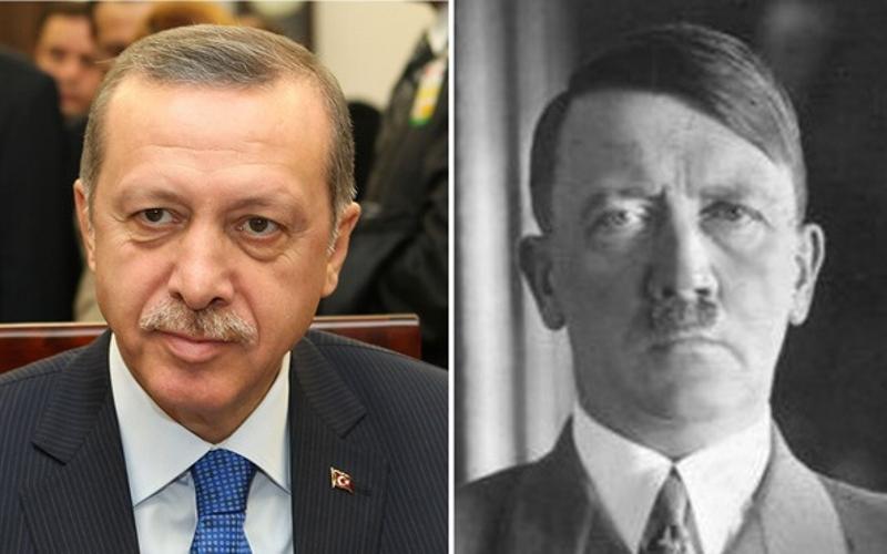 Erdogan - mini Hitler na Bosforu (Erdogan i Hitler)