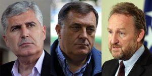 Rijeci, a ne oruzje - Dodik, Covic i Izetbegovic
