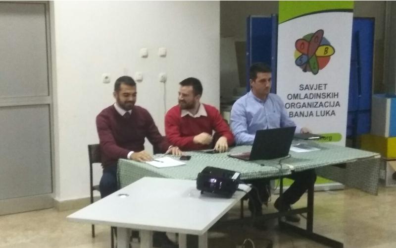 Odrzana posljednja prezentacija Omladinske politike Banja Luka