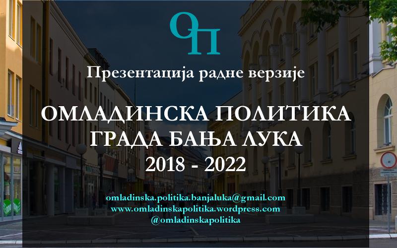 Prezentacija Omladinske politike Banja Luka
