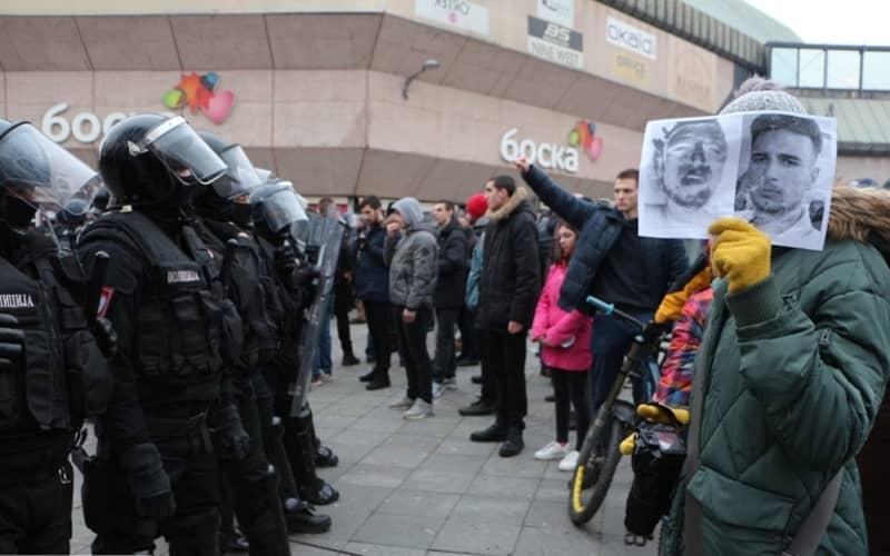 Policija protiv gradjana
