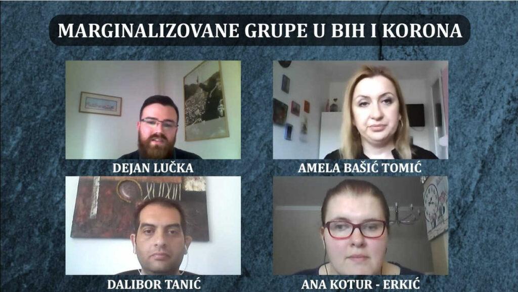 Društveno marginalizovane grupe u BiH u doba korone