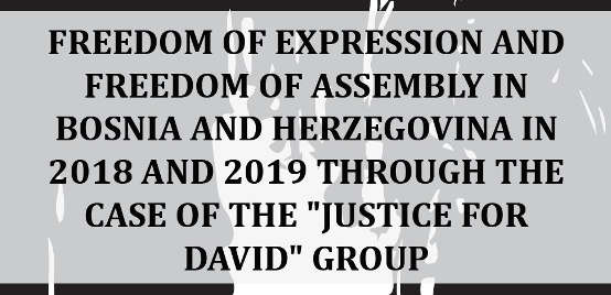 Freedom of Expression and Freedom of Assembly in Bosnia And Herzegovina...