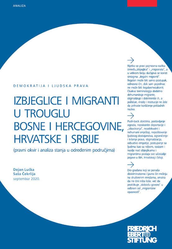 Izbjeglice i migranti u trouglu Bosne i Hercegovine, Hrvatske i Srbije - Dejan Lučka