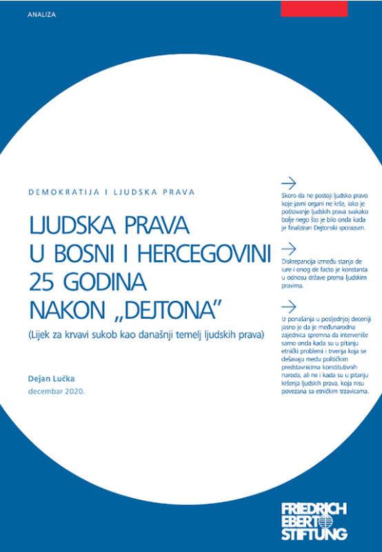 Ljudska prava u BiH 25 godina nakon Dejtona - Dejan Lučka
