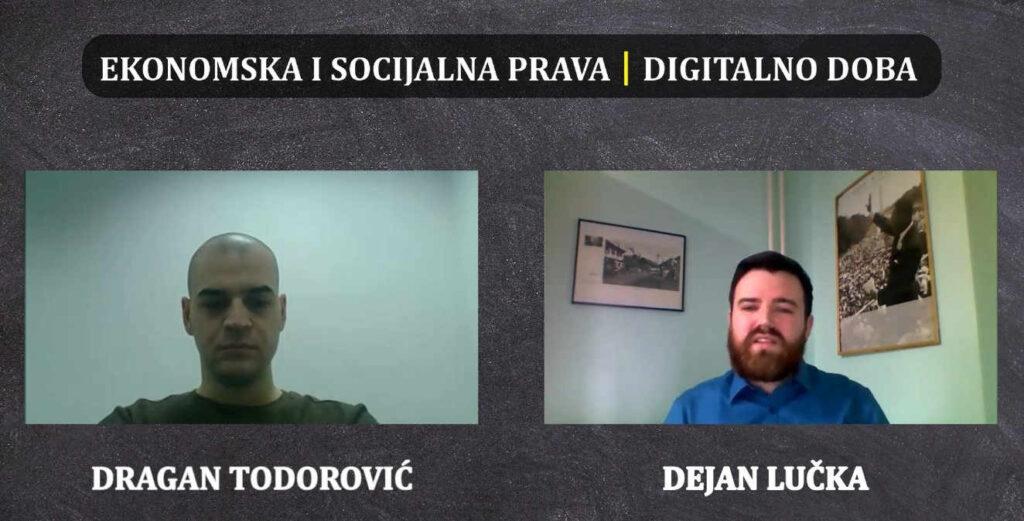 Prezentacija analize: Ekonomska i socijalna prava kroz izazove u digitalnom dobu
