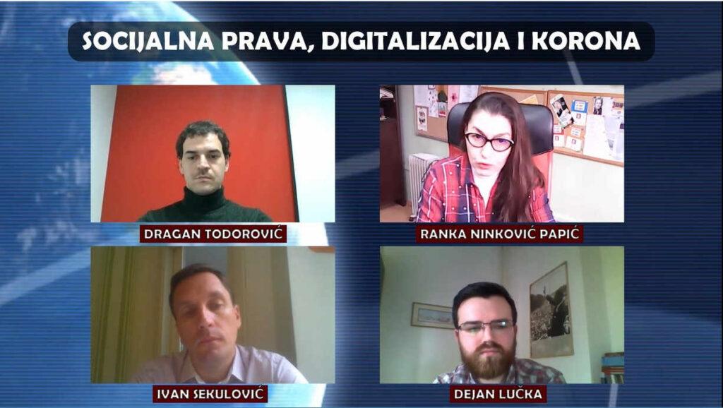 Socijalna prava, digitalizacija i korona